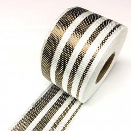 Glass / Basalt 4 Stripe Gradient 221g/m2 80mm