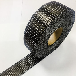 Carbon Woven Tape Unidirectional 200g/m2 40mm