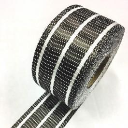 Carbon Uni Tape Clear Stripe 200g/m2 65mm