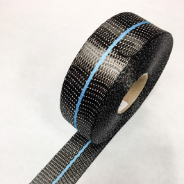 Carbon Uni Tape Twin Band Blue 200g/m2 45mm  **On Sale**