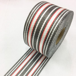 Carbon / Eglass Premium UD Tape V3 Red 210g/m2 80mm