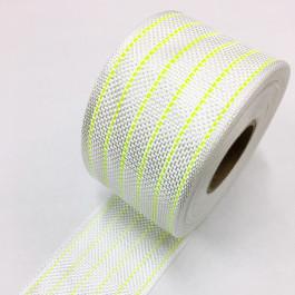 Eglass Hybrid Woven Tape 155g/m2 80mm Fluro Lime Tracer