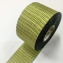 Carbon / Kevlar Hybrid Uni Tape 150g/m2 75mm