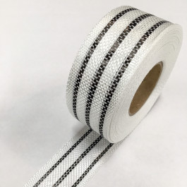 Carbon Hybrid Tape 3 Stripe Narrow 150g/m2 45mm