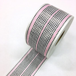 Carbon / Eglass Hybrid Woven Tape 175g/m2 80mm Pink Tracer  **On Sale**