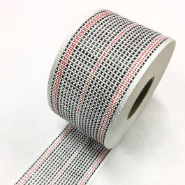 Carbon / Eglass Hybrid Woven Tape 175g/m2 80mm Red Tracer  **On Sale**