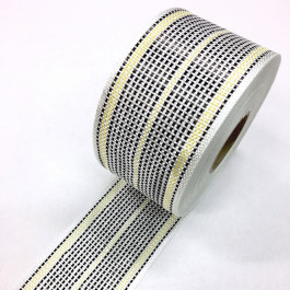 Carbon / Eglass Hybrid Woven Tape 175g/m2 80mm Yellow Tracer  **On Sale**