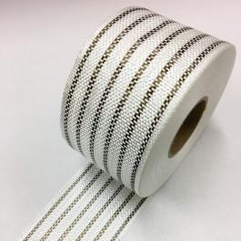 Eglass Hybrid Tape 12 Basalt + 5 White Nylextra 190g/m2 80mm *On Sale*