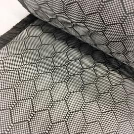 "Innegra / Carbon Woven Fabric Honeycomb Twill 8.3oz x 27"""