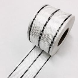Carbon / Eglass Hybrid Tape 3 Stripe 140g/m2 80mm