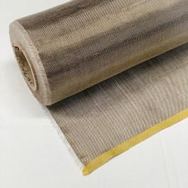 "Basalt / Flax Woven Fabric Plain 3oz x 27"""