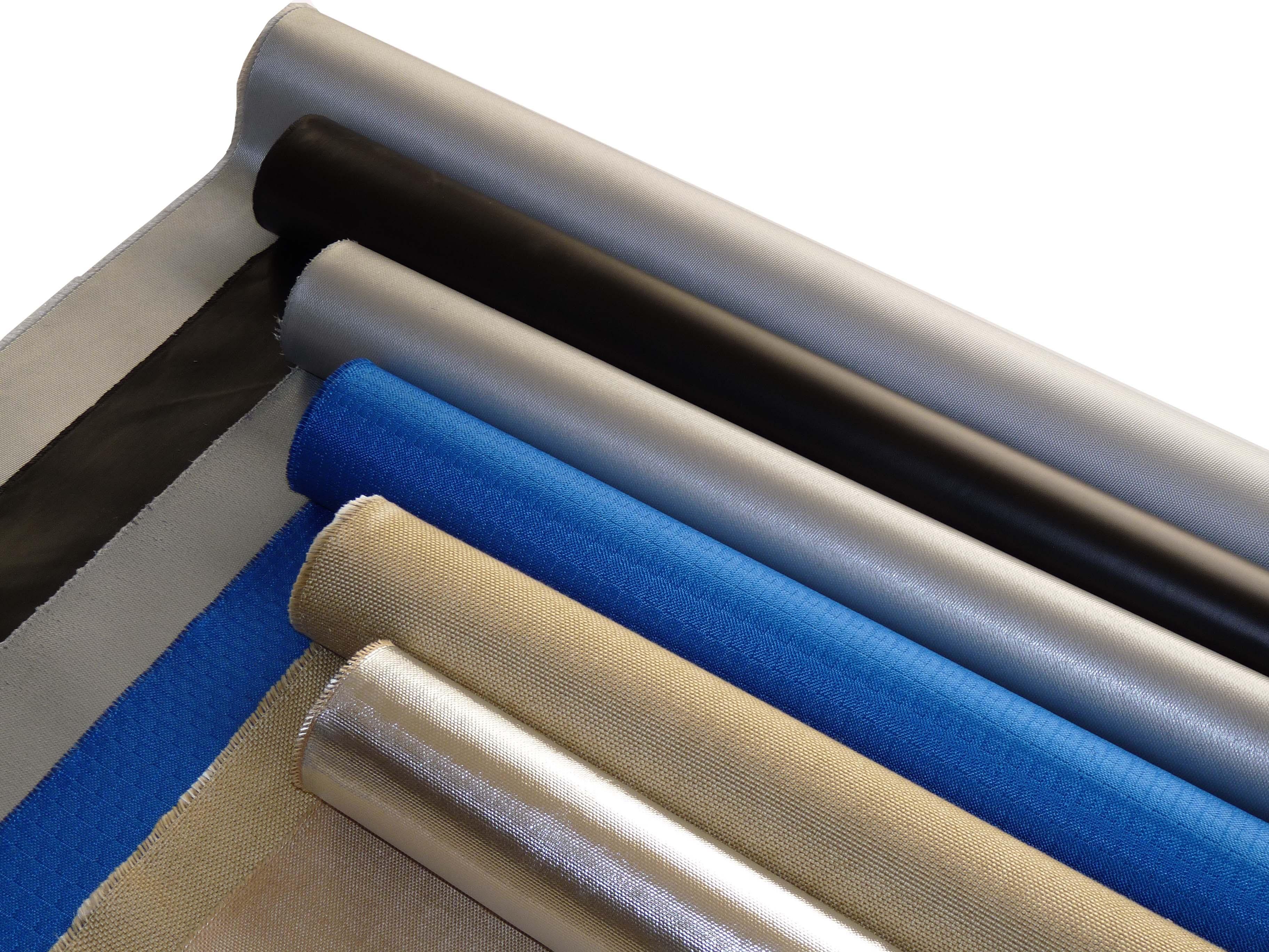 Fibreglass coated Fabric